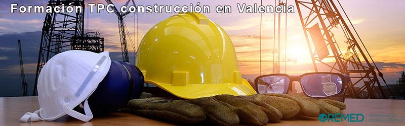 Formación TPC construcción Valencia