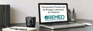 Presupuesto Prevención de Riesgos Laborales en Valencia