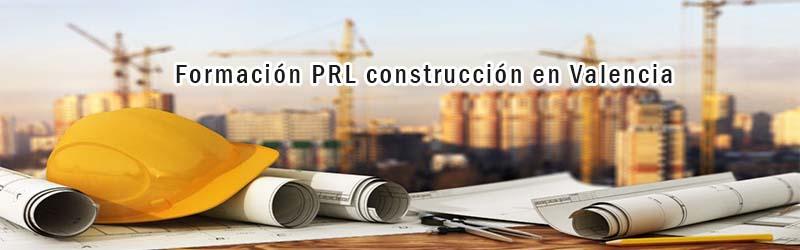Formación PRL construcción Valencia