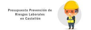 Presupuesto prevención de riesgos laborales en Castellón