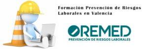 Formación prevención de riesgos laborales en Valencia